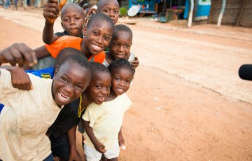 Children in Senegal